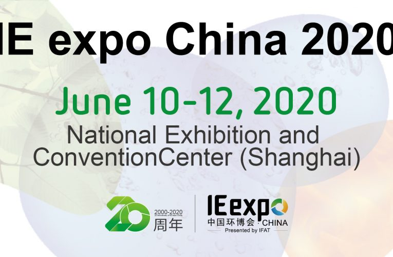 New date and venue for IE expo China 2020