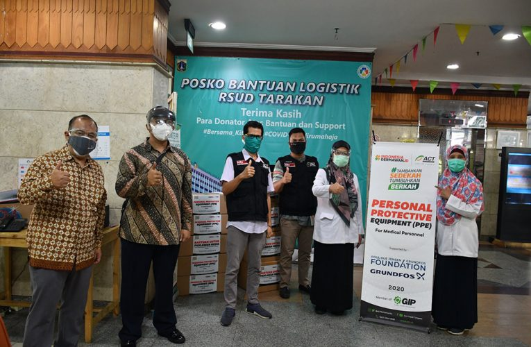 Grundfos Foundation donates funds to Aksi Cepat Tanggap to keep Indonesian health workers safe