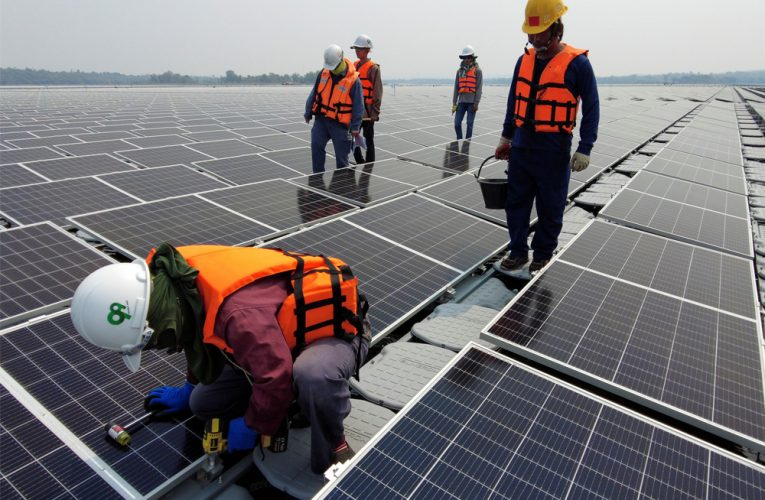 World's biggest floating hydro-solar hybrid projects close to completion