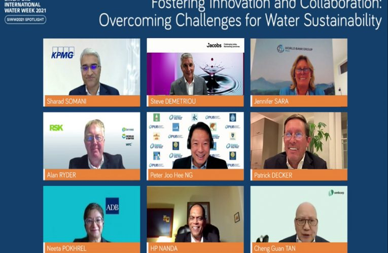 SIWW2021 Opens With Plenary Discussions Among Global Water Leaders and Experts