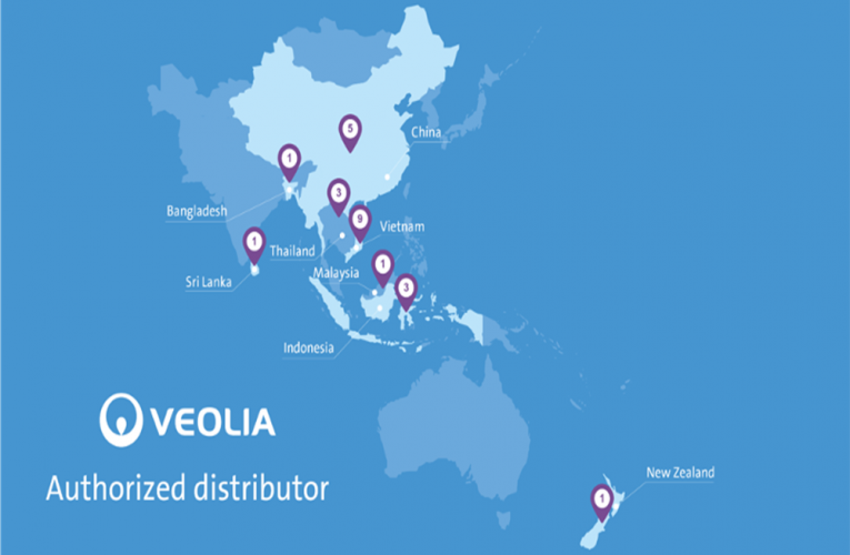Veolia Water Technologies strengthens its distribution network across Asia Pacific to deliver water solutions