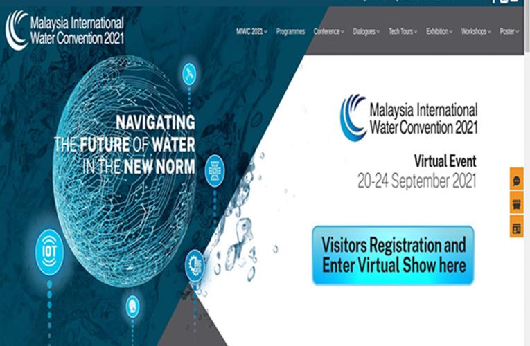 MALAYSIA INTERNATIONAL WATER CONVENTION 2021 VIRTUAL