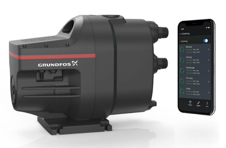 An innovative water booster pump offering intelligent connectivity